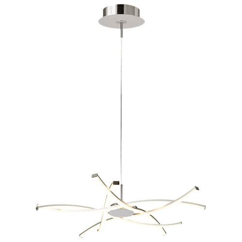 Lámpara de techo led aire gris 1 luz