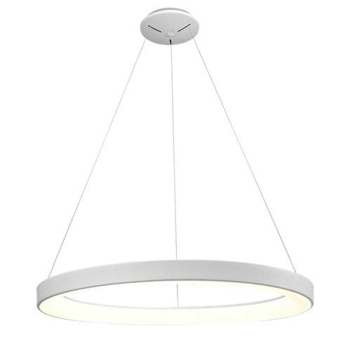 Lámpara de techo led niseko blanca 1 luz