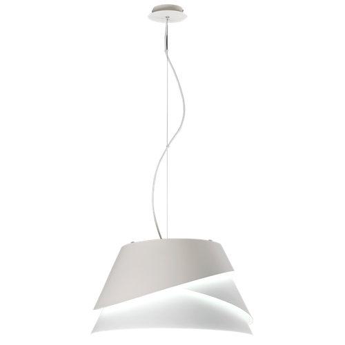Lámpara de techo alboran blanca 3 luces