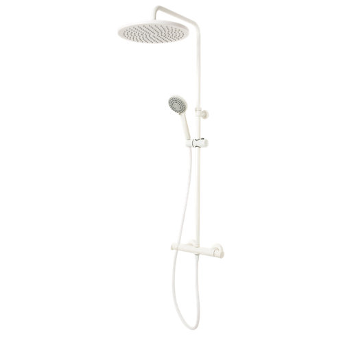 Columna ducha termostático huber levity blanco