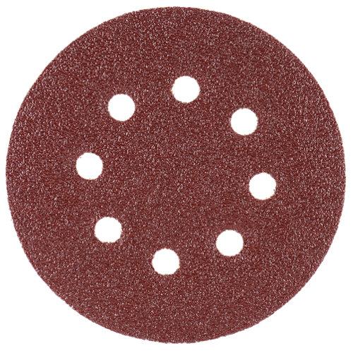 Pack de 10 discos abrasivos para madera de 40 gr 125 mm