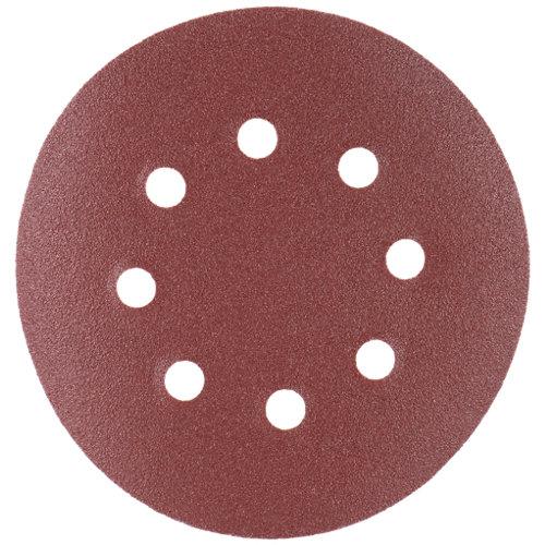 Pack de 10 discos abrasivos para madera de 120 gr 125 mm