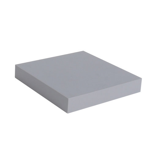 Estante spaceo mdf de color gris 23x3,8x23 cm (anchoxgrosorxfondo)