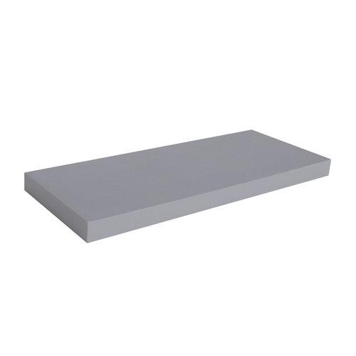 Estante spaceo mdf de color gris 60x3,8x23 cm (anchoxgrosorxfondo)