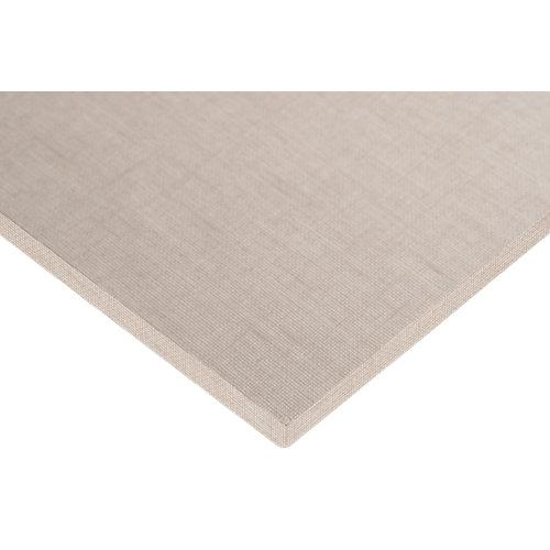 Tablero aglomerado con 4 cantos lino cancún 59,7x120x1,6 cm (anchoxaltoxgrosor)