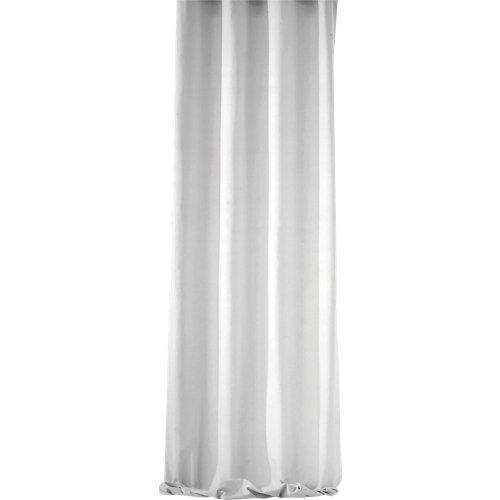 Visillo ayden con motivo liso blanco de 270 x 400 cm