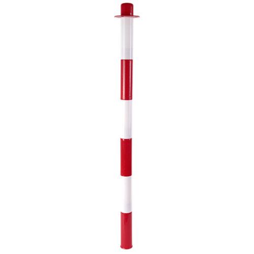 Poste rellenable rojo y blanco