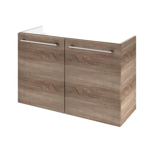 Mueble de baño remix roble gris 90 x 35 cm