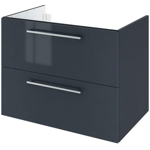 Mueble de baño remix gris 75 x 48 cm