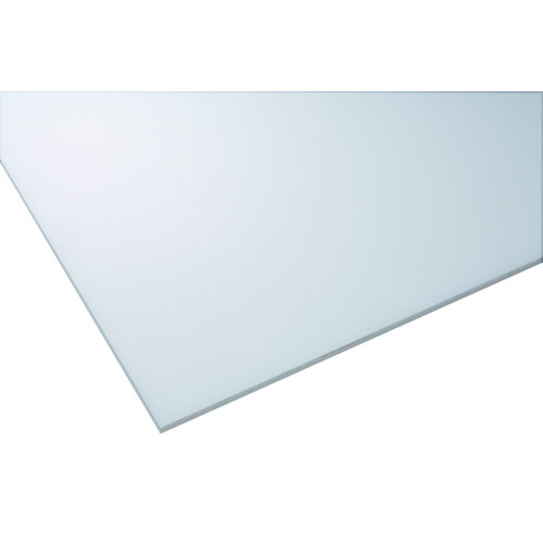 Vidrio plástico blanco liso de 2.5 mm de grosor y 100x100cm