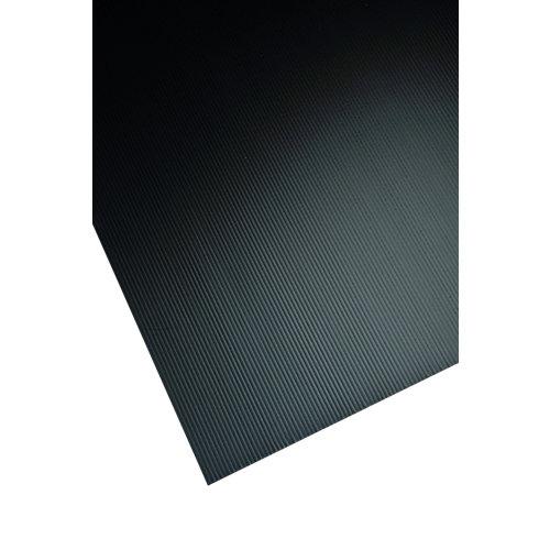 Metacrilato negro opaco de 2.5 mm de grosor y 100x50cm