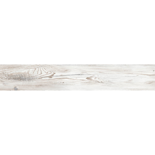 Pavimento cerámico porcelánico village 20x120 blanco c1