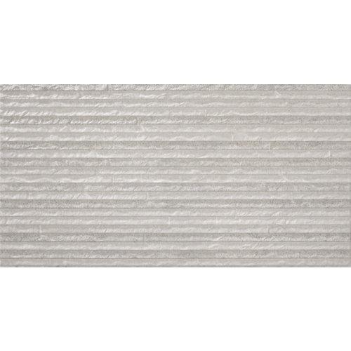 Revestimiento materia 31,6x60,8 relieve gris artens