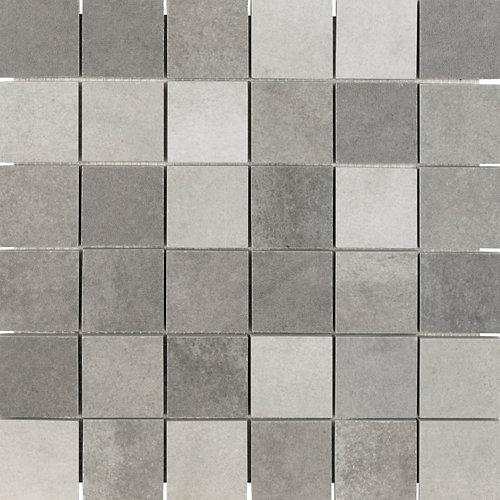 Mosaico verona 30x30 multi-gris artens
