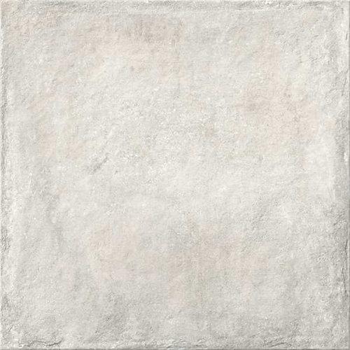 Suelo cerámico porcelánico cazorla 60,5x60,5 blanco-relieve c2