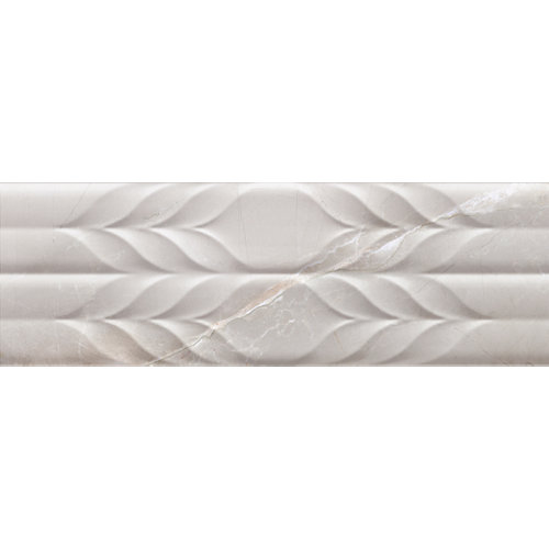 Azulejo de decoración pandora de pasta blanca blanco