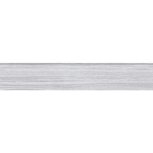 Rodapié recto gris / plata 45 cm de largo