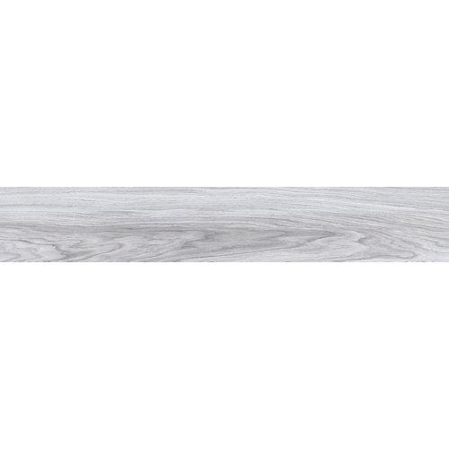 Baldosa de 15x90 cm en color gris / plata