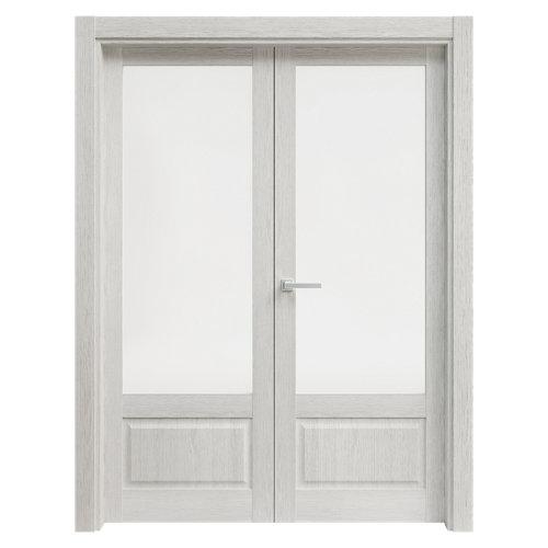 puerta sofía blanco de apertura izquierda de 145 cm
