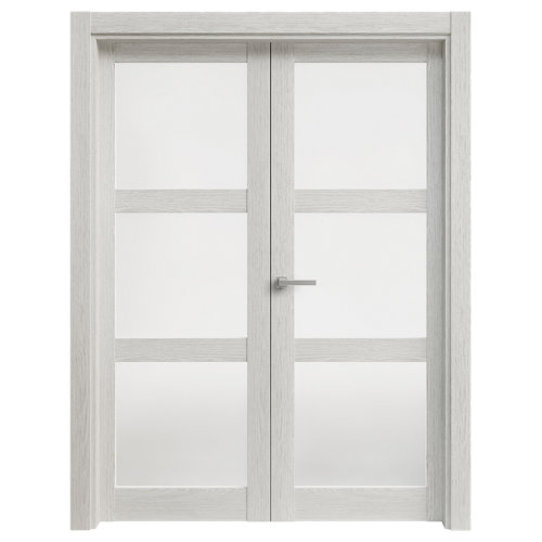 puerta moscú blanco de apertura izquierda de 115 cm