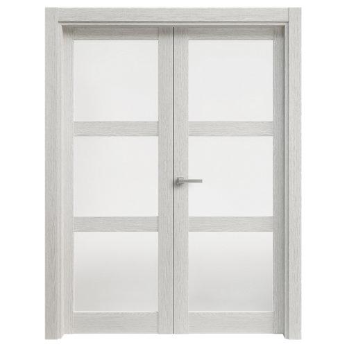 puerta moscú blanco de apertura derecha de 125 cm