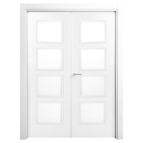Puerta bari premium blanco de apertura derecha de 105.00 cm