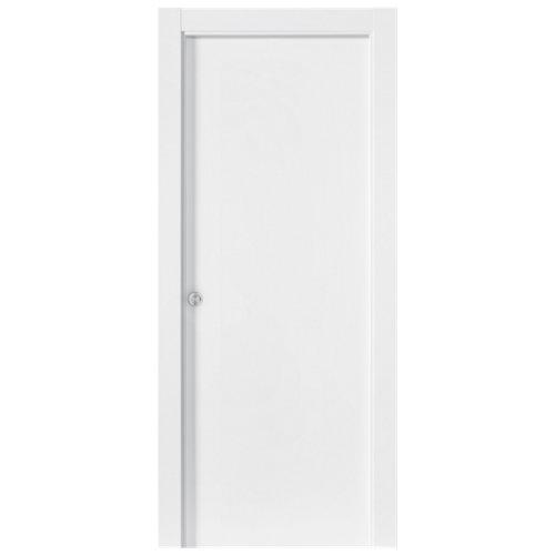 Puerta de interior corredera bari premium blanco de 82.5 cm