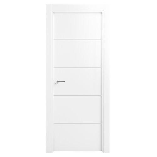 Puerta lucerna premium blanco de apertura derecha de 62.50 cm