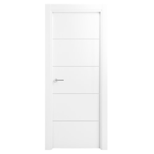 Puerta lucerna premium blanco de apertura izquierda de 82.50 cm