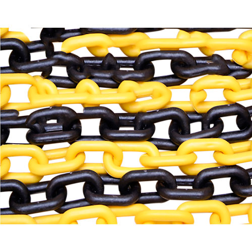 Cadena de señalización con forma de ovalada de plástico / pvc y 5 m