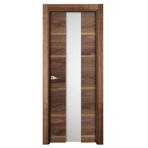 puerta oboe nogal de apertura derecha de 72.5 cm