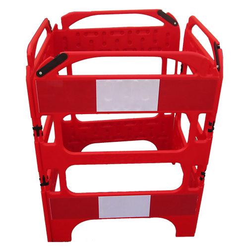 Valla plastica roja safegate 750mm