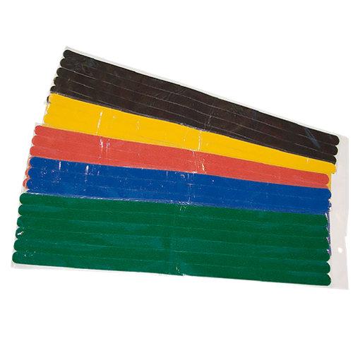 Antideslizante rectangular de plástico de 0,3x12 mm