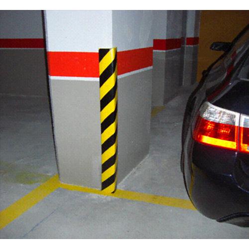 Protector para garaje de espuma de goma de 70x30 cm