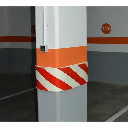 Protector para garaje de polietileno de 28x99 cm