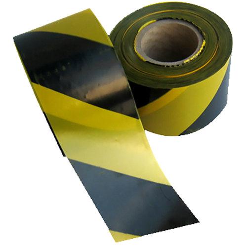 Cinta balizam amarailla/negra 200mx10cm