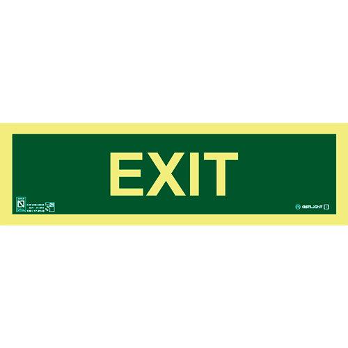 Cartel exit 10,5x29,7 cm
