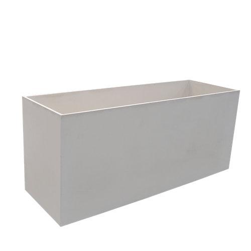 Maceta de hormigón movelar blanco 38.5x48 cm