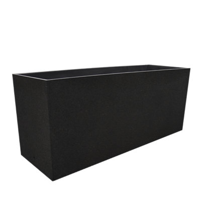 Maceta de hormigón 118x38 cm