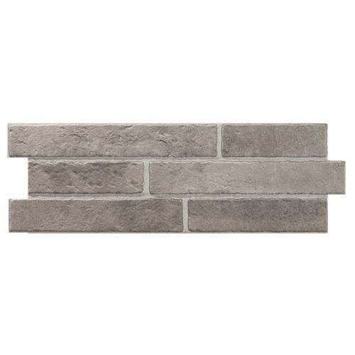 Azulejo cerámico porcelánico 17x52 apalache gris