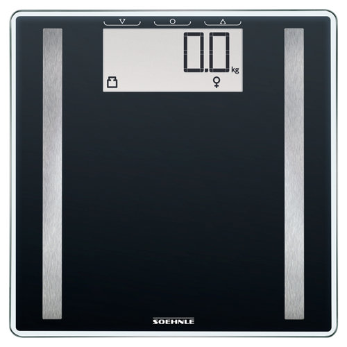Báscula baño digital control 100 soehnle negro