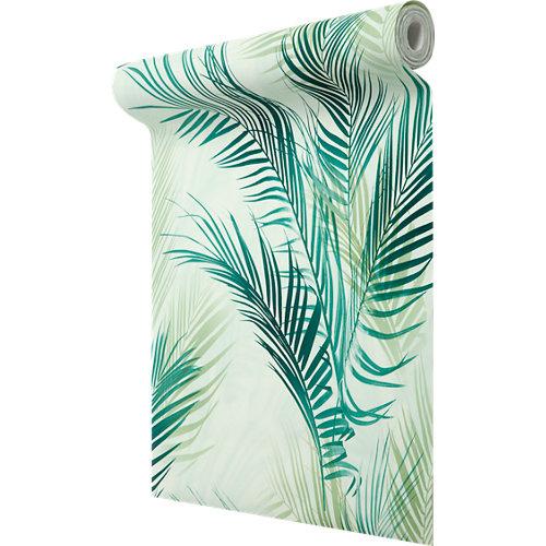 Papel pintado hojas palmera 5,32 m²