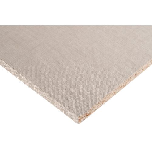 Tablero aglomerado con 2 cantos lino cancún 59,7x244x1,6 cm (anchoxaltoxgrosor)