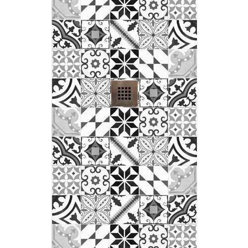 Plato ducha rectangular image 120x70 cm gris