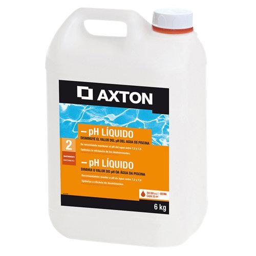 Reductor de ph piscinas axton 6l