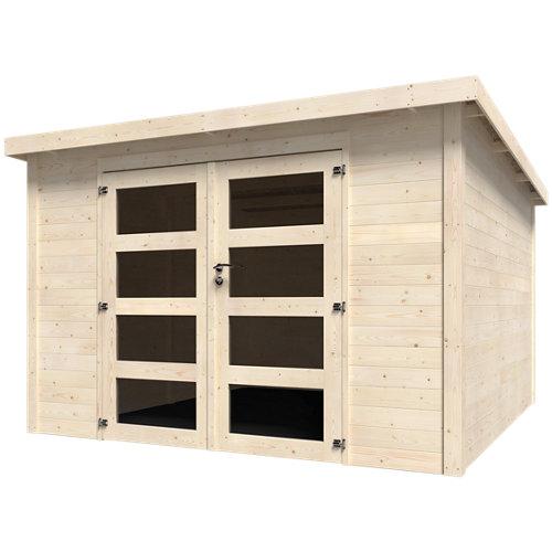 Caseta de madera kuma axess de 325x220x326.2 cm y 10.6 m2