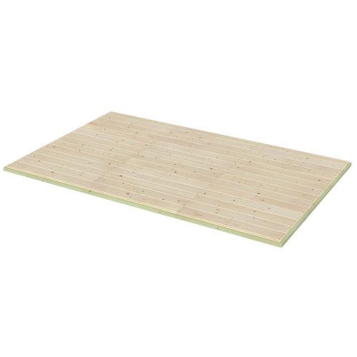Kit de suelo para casetas naterial kipo axess evo 244x152 cm