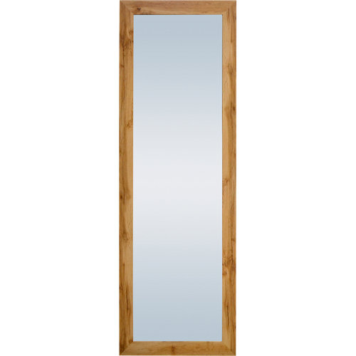 Espejo rectangular pierre roble roble 152 x 52 cm