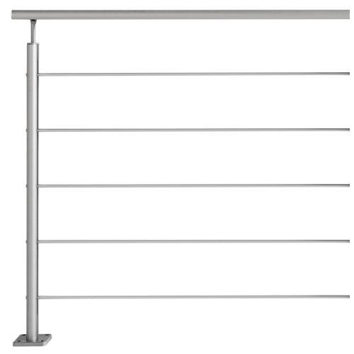 Kit extension barandilla artens 1m longitud acabado aluminio