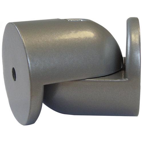 Articulacion gris regulable para union pasamanos de madera diametro 4cm